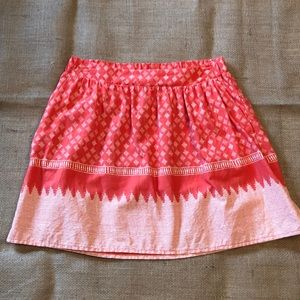 Old Navy XS Coral Mini Skirt